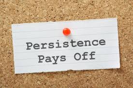 persistence is action